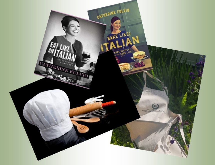 Cook books apron and cookery GV (2)
